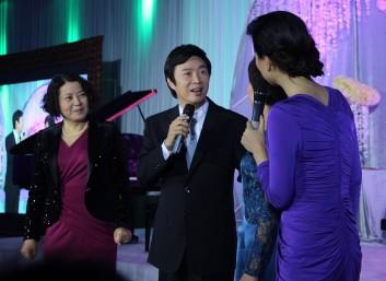 费玉清、陈小春、陈蓉、金海心、周艳泓、江涛出席常州朱、戴豪华婚宴表演嘉宾